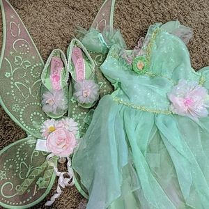 4T Tinkerbell costume